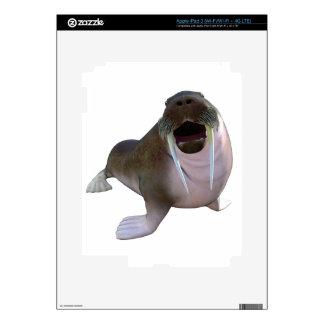 Walrus Decals For iPad 3