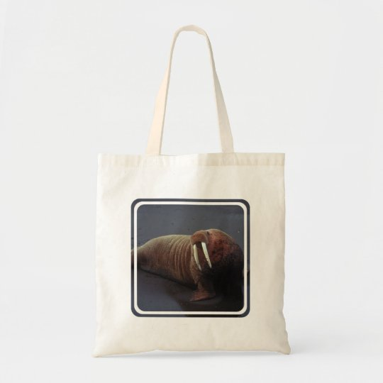 Walrus Small Canvas Bag