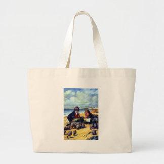 Walrus & the Carpenter Large Tote Bag
