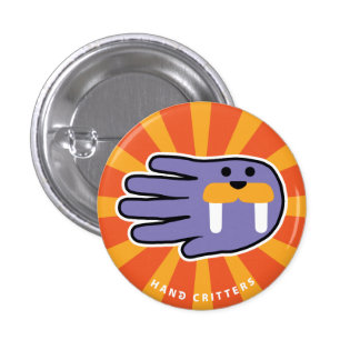 Walrus Tusks Button