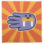 Hand shaped Walrus Tusks Cloth Napkin