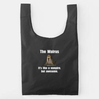 Walrus Vampire Reusable Bag