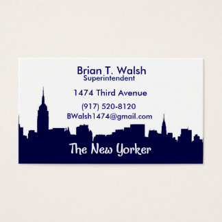 Walsh Business Card