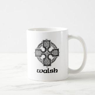 Walsh Celtic Cross Coffee Mug