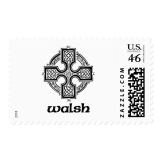 Walsh Celtic Cross Stamps