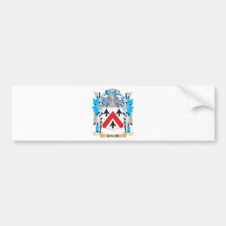 Walsh Coat of Arms - Family Crest Car Bumper Sticker