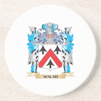 Walsh Coat of Arms - Family Crest Coaster