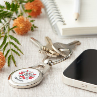 Walsh Coat of Arms Keychain