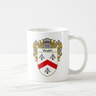 Walsh Coat of Arms (Mantled) Mugs