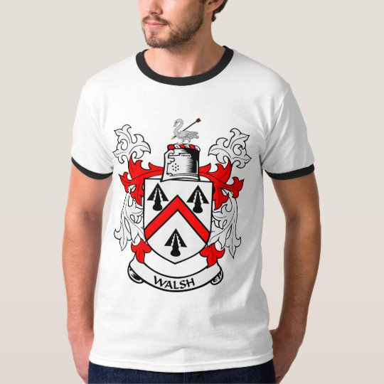 WALSH Coat of Arms T-Shirt