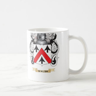 Walsh Family Crest (Coat of Arms) Mugs
