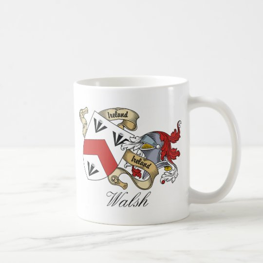 Walsh Family Crest Coffee Mug