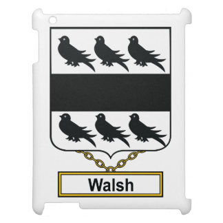 Walsh Family Crest iPad Cover
