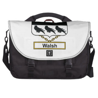 Walsh Family Crest Bags For Laptop