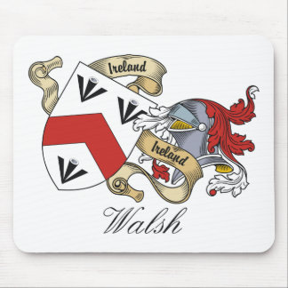 Walsh Family Crest Mouse Mats