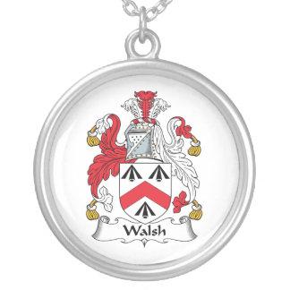Walsh Family Crest Pendant
