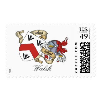 Walsh Family Crest Stamps