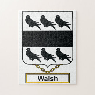 Walsh Family Crest Puzzle