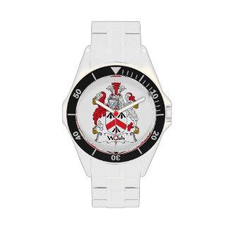 Walsh Family Crest Wrist Watch