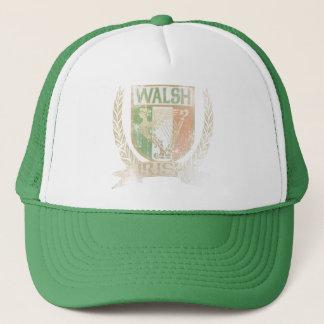 Walsh Irish Crest Trucker Hat