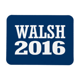 Walsh - Joe Walsh 2016 Imán Rectangular