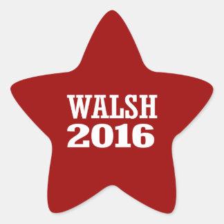 Walsh - Joe Walsh 2016 Pegatina En Forma De Estrella
