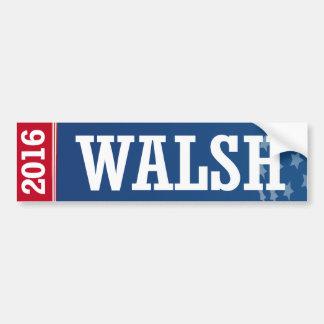 Walsh - Joe Walsh 2016 Pegatina Para Auto