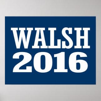 Walsh - Joe Walsh 2016 Póster