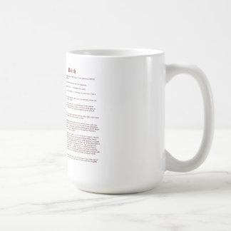 Walsh (meaning) coffee mug