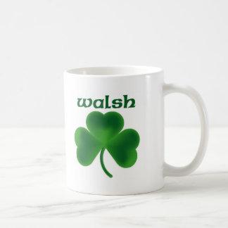 Walsh Shamrock Coffee Mug