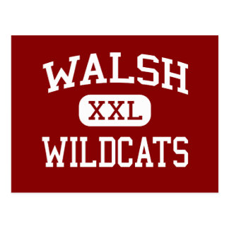 Walsh - Wildcats - Middle - Framingham Postcard