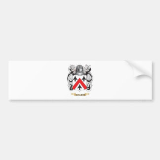 Walshe Family Crest (Coat of Arms) Car Bumper Sticker