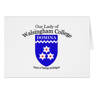 Walsingham College Note Card