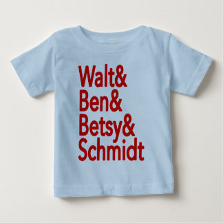 WALT BEN BETSY SCHMIDT BABY T-Shirt