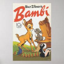 Walt Disney's Bambi Movie Poster