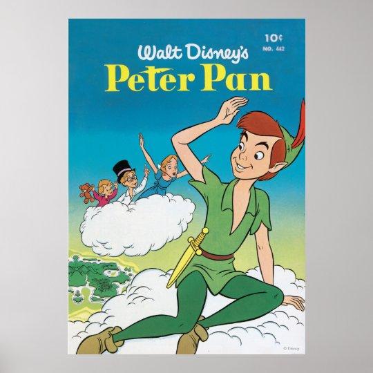 Walt Disney's Peter Pan Vintage Poster