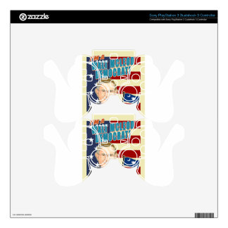 Walt McLeod Items Decal For PS3 Controller