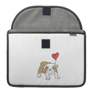 Walt the Maltese Pug Happy Valentine's Day MacBook Pro Sleeve