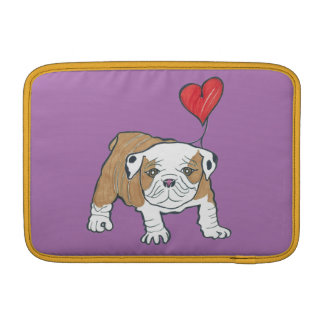 Walt the Maltese Pug Happy Valentine's Day Sleeve For MacBook Air