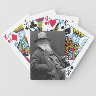 Walt Whitman 1887 Baraja Cartas De Poker