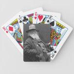 Walt Whitman 1887 Bicycle Poker Cards