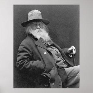 Walt Whitman 1887 Poster