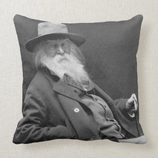 Walt Whitman 1887 Throw Pillow