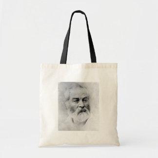 Walt Whitman Age 44 Civil War Years Tote Bag