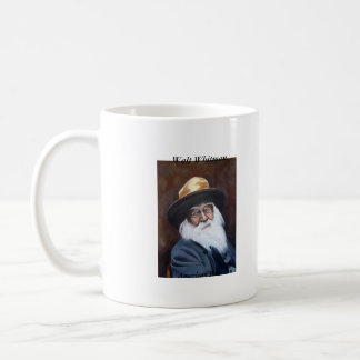 Walt Whitman, American Poet Classic White Coffee Mug