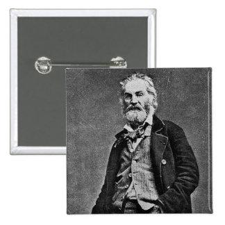 Walt Whitman antes de la guerra civil Pin Cuadrado