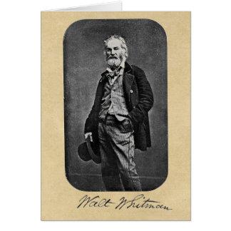 Walt Whitman Before the Civil War Card