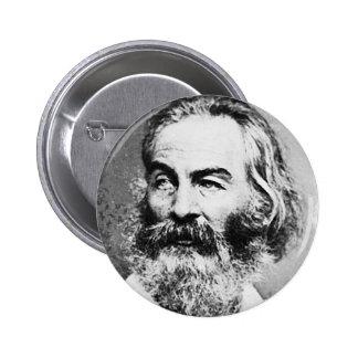 Walt Whitman 2 Inch Round Button