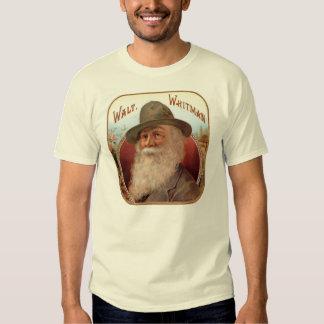 Walt Whitman Cigar Label T-shirt