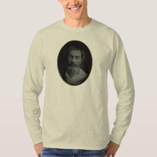Walt Whitman Colorized Portrait, Age 35 Shirt